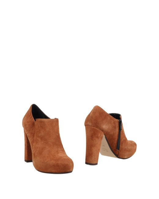 Couture - Brown Booties - Lyst