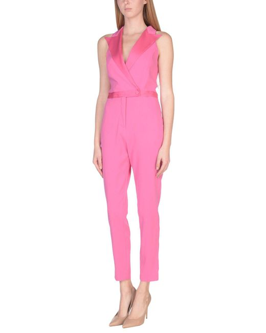 Space Style Concept   Pink Jumpsuit   Lyst