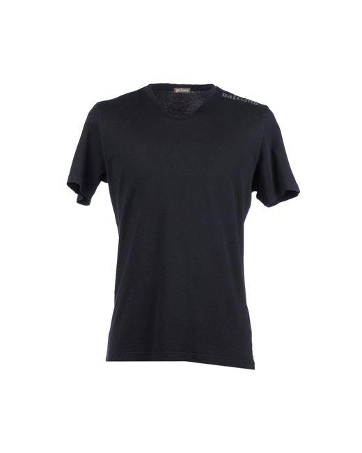 John Galliano - Black T-shirt for Men - Lyst