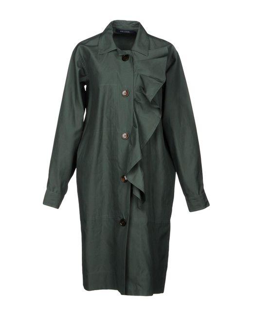 Sofie D'Hoore - Green Overcoat - Lyst