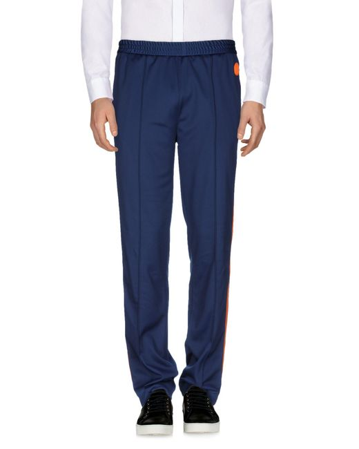 MSGM - Blue Casual Pants for Men - Lyst