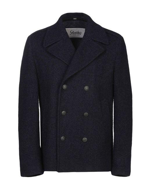 Schneiders Blue Coat for men