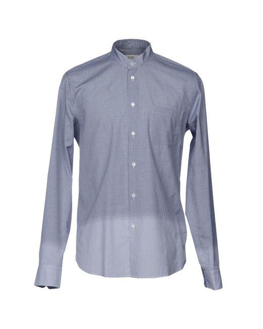 Mauro Grifoni - Blue Shirt for Men - Lyst