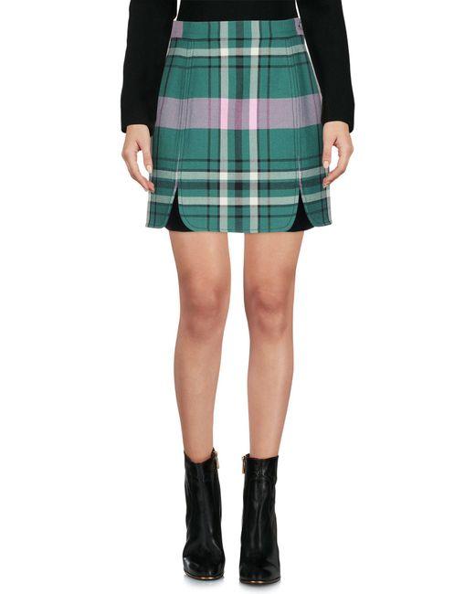 Philosophy Di Lorenzo Serafini - Green Mini Skirts - Lyst