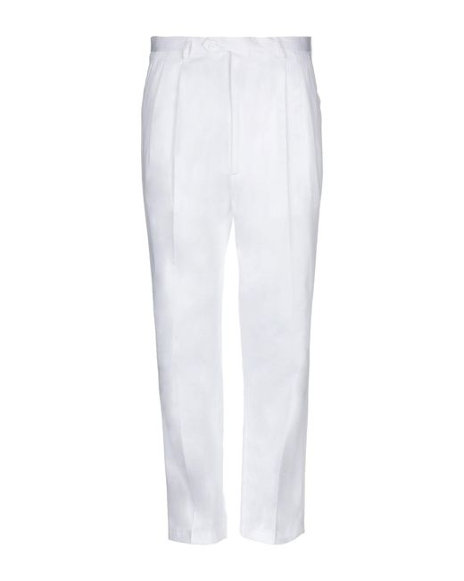 LC23 - White Casual Pants for Men - Lyst