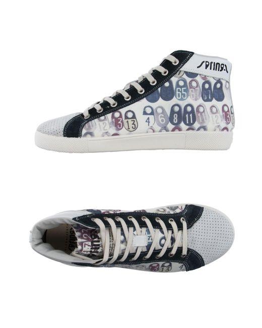 Springa   Gray High-tops & Sneakers   Lyst