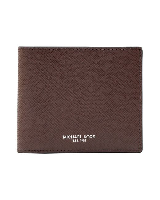 f4311a8d23705 Michael Kors Wallet in Brown for Men - Save 25% - Lyst