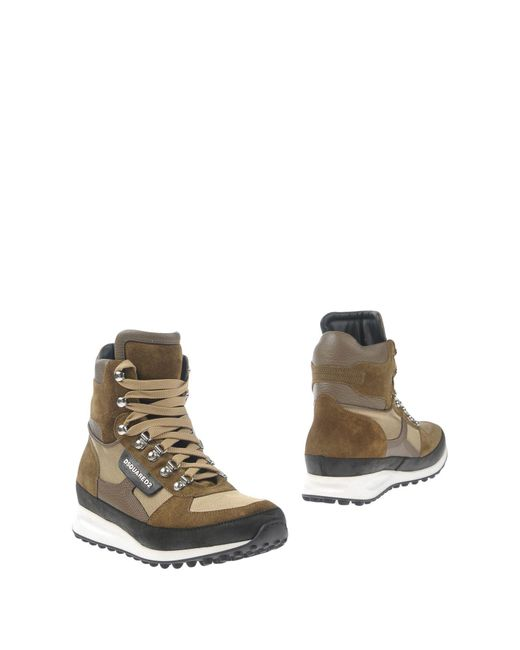 DSquared² - Natural Ankle Boots for Men - Lyst