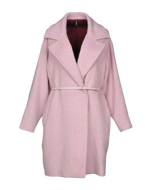 Pianurastudio - Pink Coat - Lyst