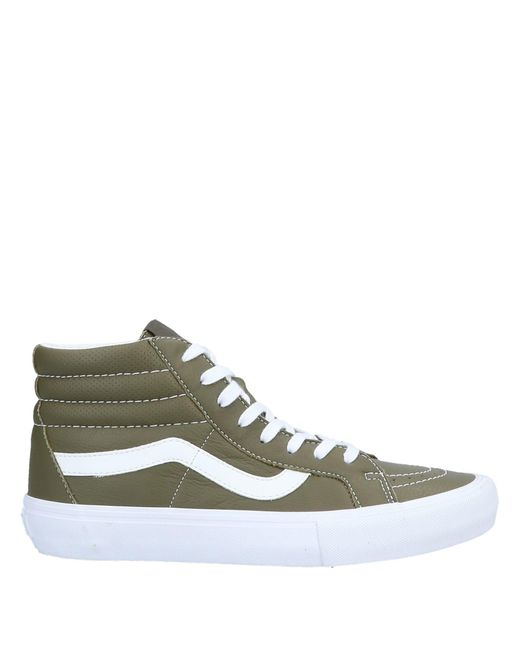 b51c3d8e714ebe Lyst - Vans High-tops   Sneakers in Green for Men