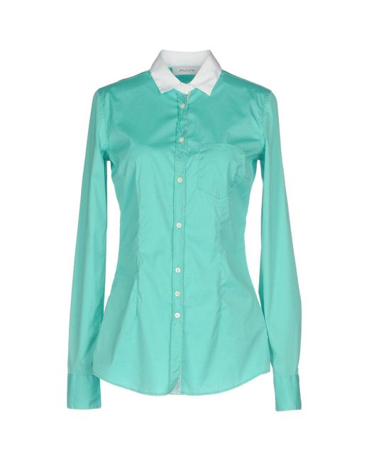 Aglini - Green Shirts - Lyst