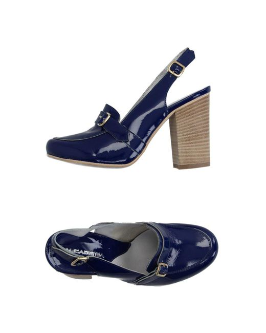 Accademia - Blue Loafers - Lyst