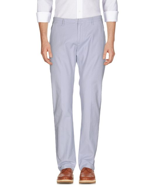 TRUE NYC - Blue Casual Pants for Men - Lyst