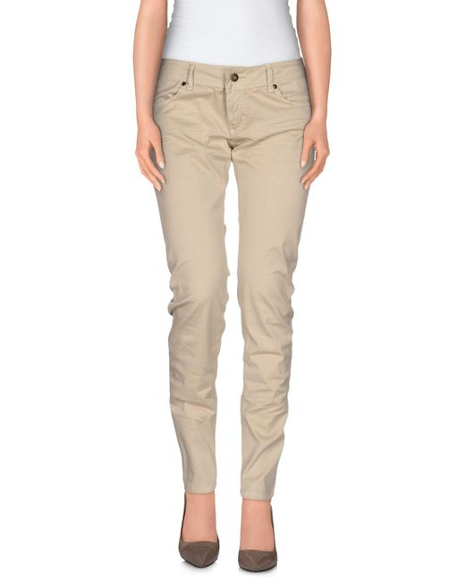 Ottod'Ame - Natural Casual Trouser - Lyst