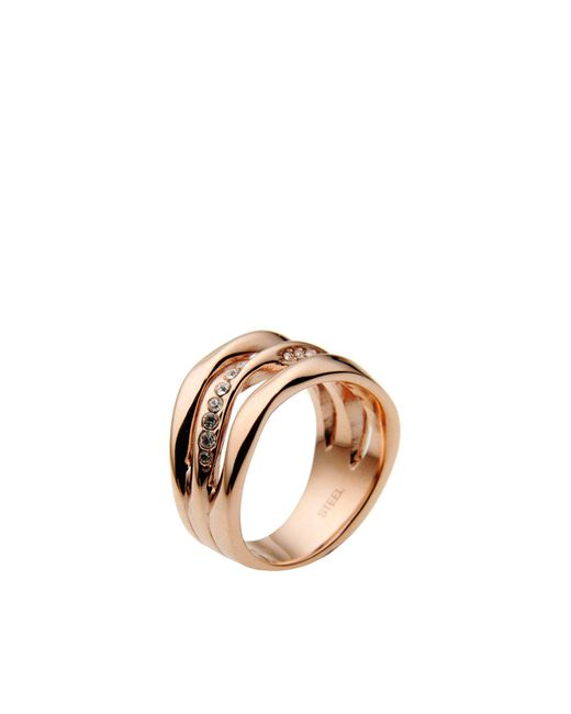 Fossil - Metallic Rings - Lyst