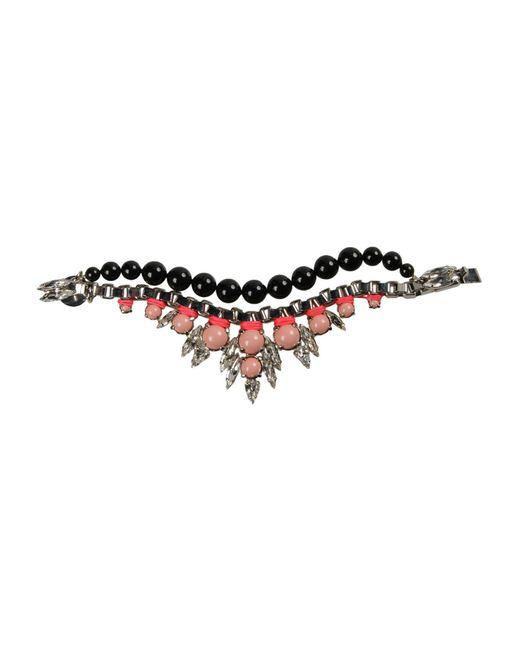 Ellen Conde - Black Bracelet - Lyst