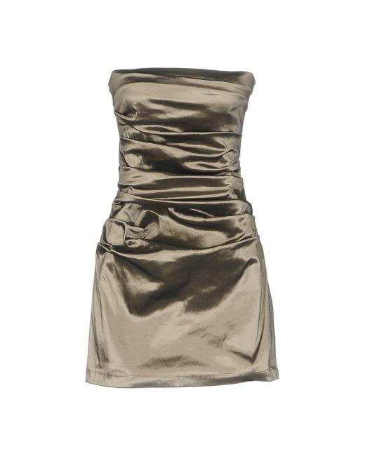 Plein Sud Multicolor Short Dress