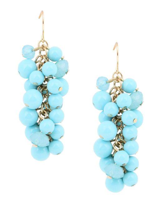 Kenneth Jay Lane - Blue Earrings - Lyst