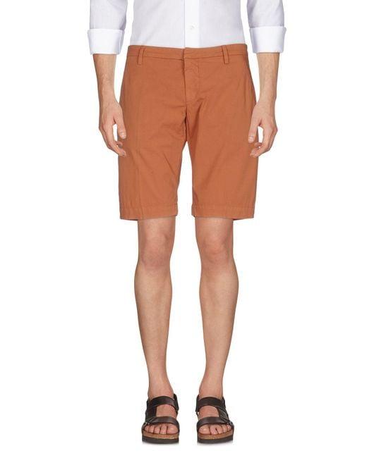 Dondup - Brown Bermuda Shorts for Men - Lyst