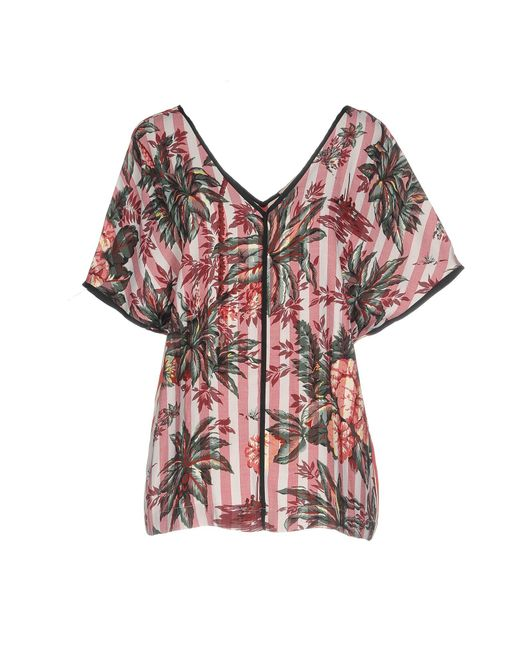 Shirtaporter - Red Blouse - Lyst