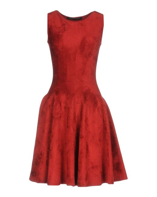Antonino Valenti - Red Short Dress - Lyst