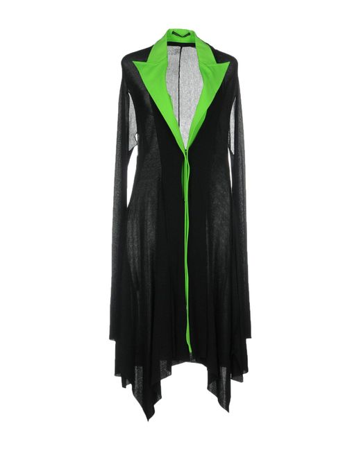 Yohji Yamamoto - Green Overcoats - Lyst