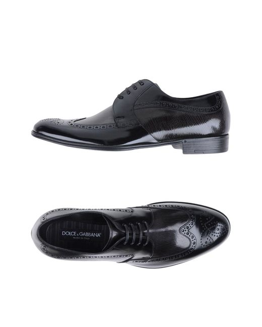 Dolce & Gabbana - Brown Lace-up Shoes for Men - Lyst