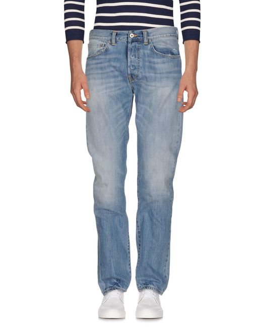 Edwin - Blue Denim Trousers for Men - Lyst