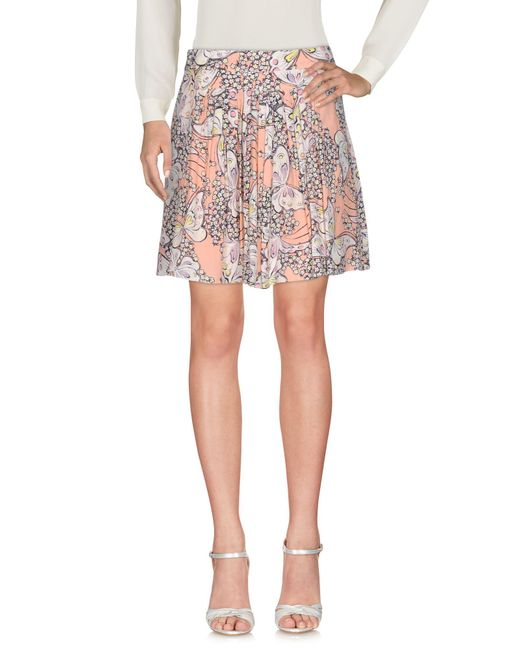 Paul & Joe - Pink Mini Skirt - Lyst