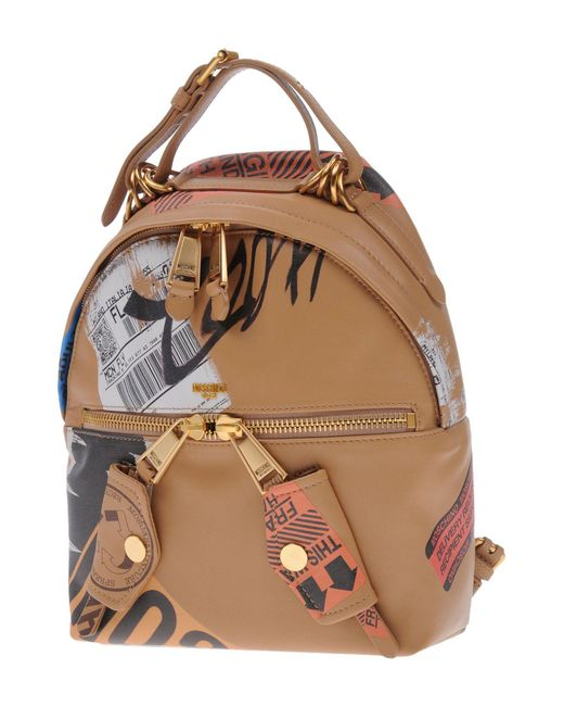 Moschino - Brown Backpacks & Fanny Packs - Lyst