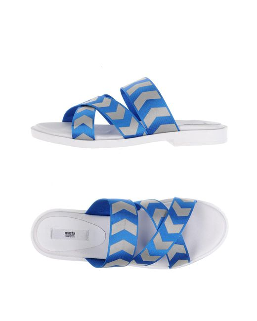 Miista | Blue Sandals | Lyst