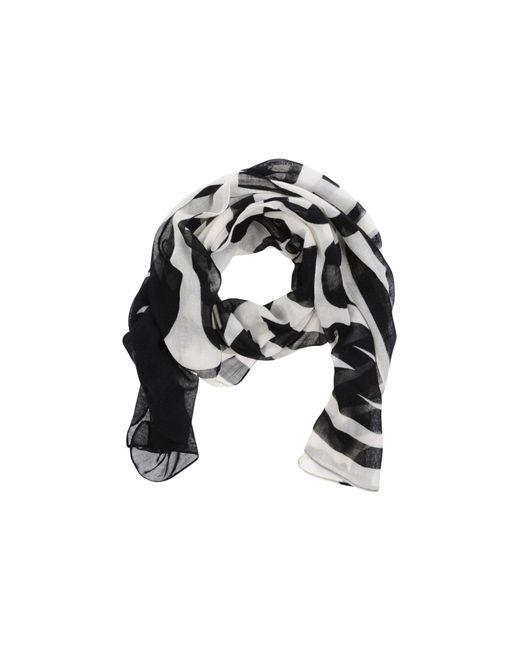 Moschino | Black Oblong Scarf | Lyst