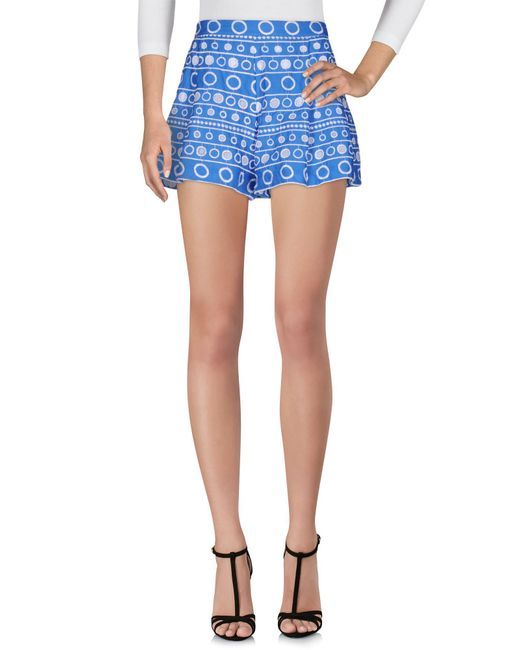 Boutique Moschino | Blue Shorts | Lyst