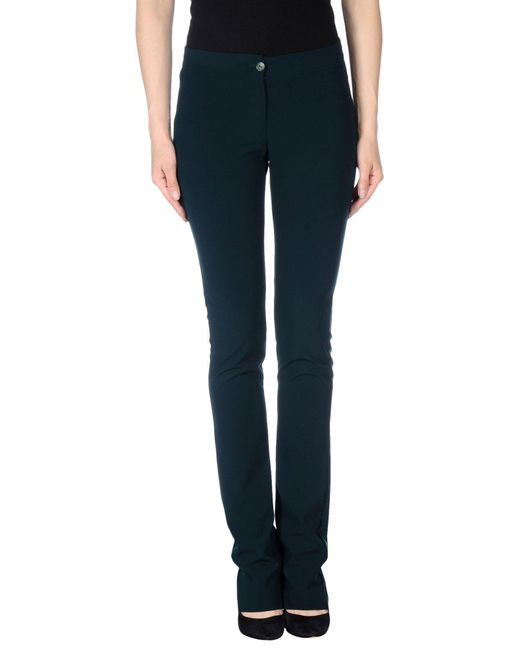 Patrizia Pepe | Green Casual Pants | Lyst