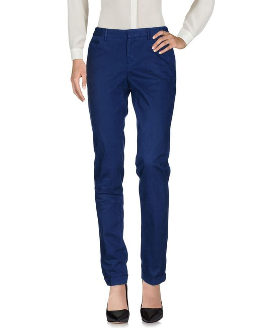 Pt0w - Blue Casual Trouser - Lyst