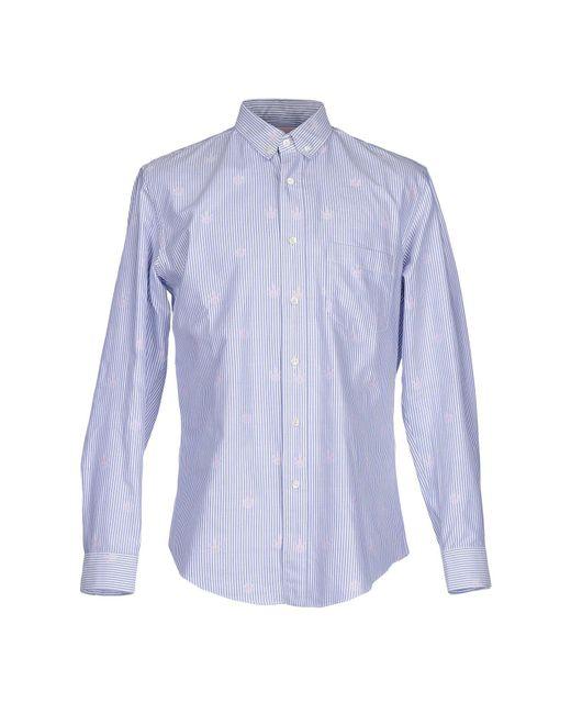 Palm Angels | Blue Shirt for Men | Lyst