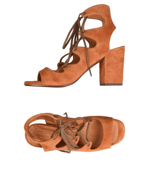 Chie Mihara - Brown Sandals - Lyst
