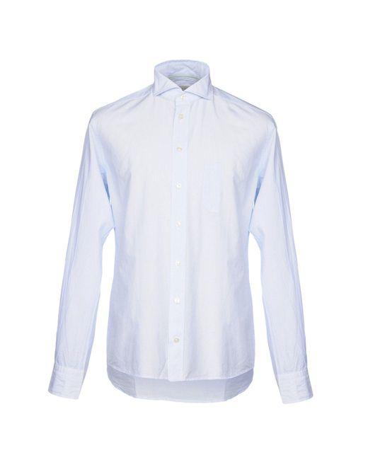 Eton of Sweden - Blue Shirt for Men - Lyst