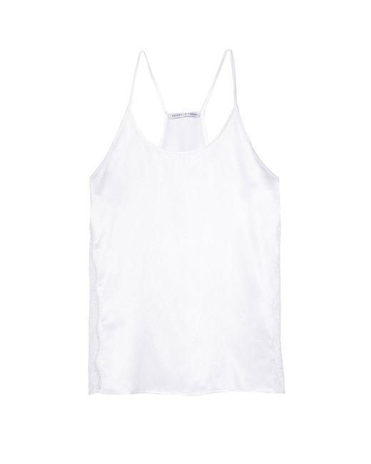 Raphaëlla Riboud - White Sleeveless Undershirt - Lyst