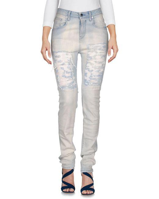 Met - Blue Jeanshose - Lyst