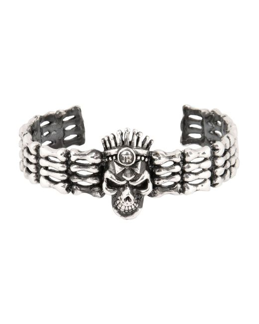 John Richmond - Metallic Bracelets - Lyst