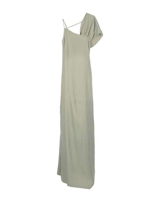 INTROPIA - Green Long Dress - Lyst