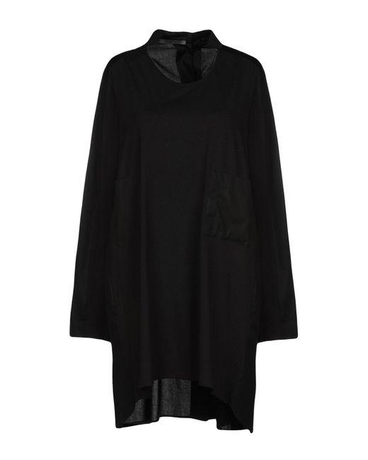 Crea Concept - Black Short Dress - Lyst