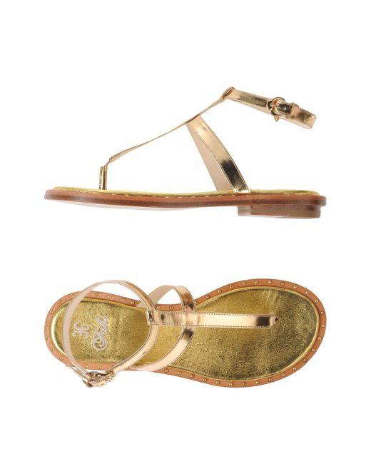 FOOTWEAR - Toe post sandals Fabi JlJfcaX