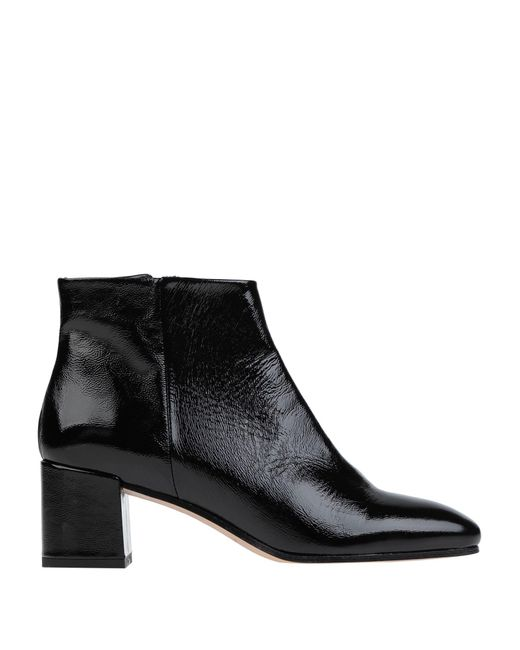 Fabio Rusconi Black Ankle Boots