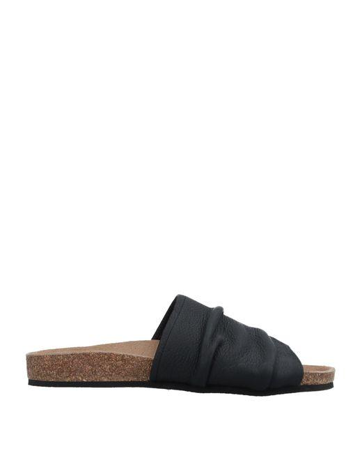 Peter Non - Black Toe Post Sandal - Lyst