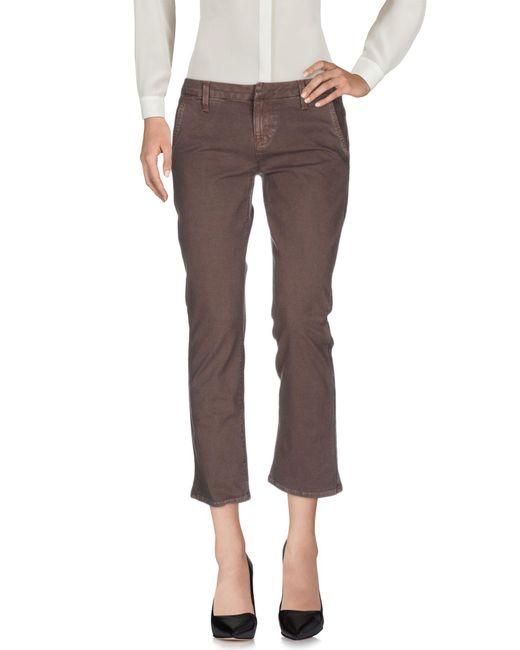 Hudson - Gray Casual Pants - Lyst