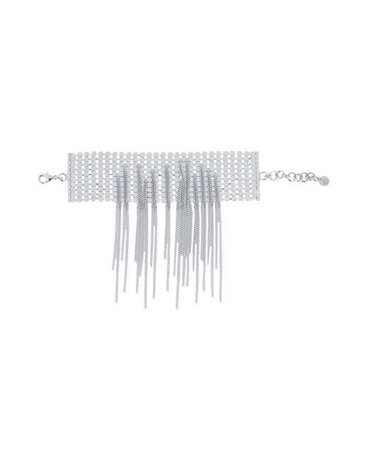MM6 by Maison Martin Margiela | Metallic Bracelet | Lyst