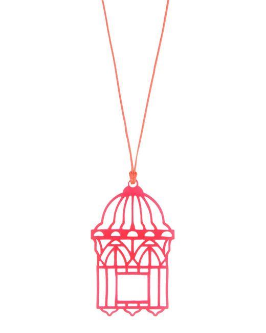 Loroetu   Pink Necklace   Lyst