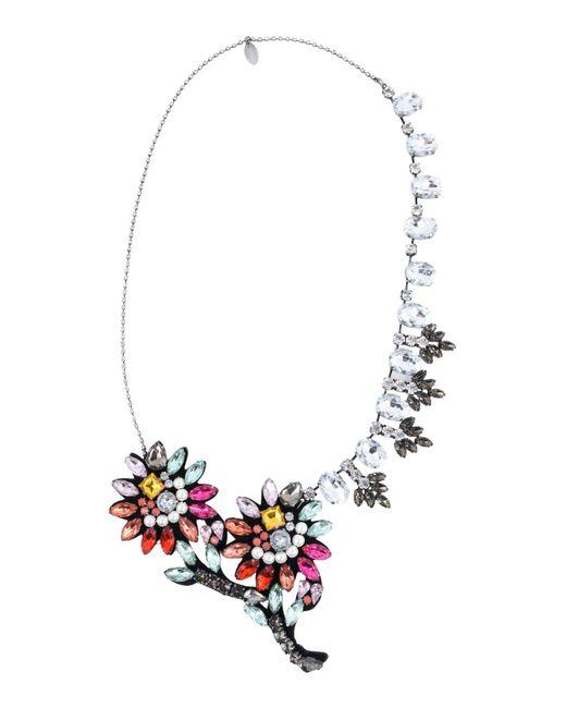 Twin Set - Metallic Necklaces - Lyst
